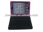 High Quality PU Leather Detachable Bluetooth Keyboard Foilo Case for iPad Mini/iPad Mini 2 Retina
