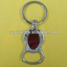 Best gift metal couple keychain bottle opener shenzhen supplier