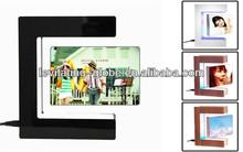 rotating led photo frame,magnetic floating photo frame,magnetic rotary picture frame