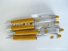 Wholesales Plastic Advertising 3D Floater Ball Pen, Custom Liquid Pen