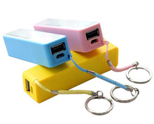 2014 cheap built in cable power bank fit for cell phone