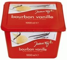 Jeden Tag bourbon Vanilla Ice Cream 1000ml