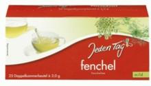Jeden Tag fennel Tea dual-chamber tea bag 25s