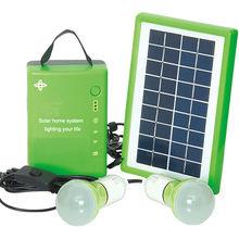 portable mini 5w solar home appliances solar home kit