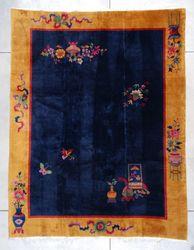 Art Deco ANTIQUE CHINESE Oriental Rug Carpet #7429