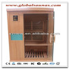 far infrared sauna room with infrared heater for one person