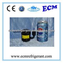 Rotary DC Mini Compressor, Tiny Refrigeration Compressor R134A 150~500W