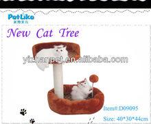 Hot Selling Cat Tree House,Cat Scratcher Post, Wooden Cat Scratcher