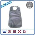 Reutilizable de PVC babero adulto no tejido de la tela
