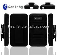 Rugged 3 in 1 Case Shell Holster Combo Belt Clip Case For Motorola XT1080