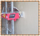 new advanced automatic ready mix render spray machine with quality certificate