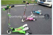 three wheels folding kick scooter