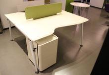MDF modern office furniture/2 person office desk/New design office desk