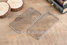 USAMS 0.6mm Ultra Thin Transparent Flip Case For iPhone 5S