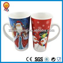 Winter Series Ceramic Snowman Coffee Mug