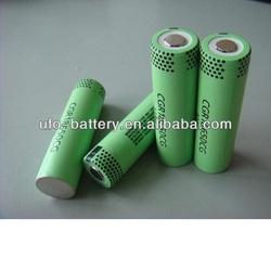 panasonic NCR18650A 3100mAh 3.7v li ion rechargeable battery