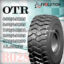 B02S bias otr tyre 17.5x25,off the road (otr) tires 1300-24 1400-24,otr grader tire