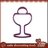 Fondant different industrial cookie cutter