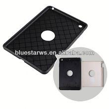 2in1 pc plus tpu case for ipad mini Crystal Case Cover For ipad Mini,PC+TPU Transparent Case For ipad mini