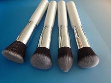 cosmetic brand 4pcs nylon hair make up brush set