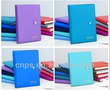2014 New Highquality a5 pu leather notebook cover