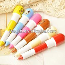Fantastic China Medcine Quality Custom Printed Retractable Capsule Ball Pen