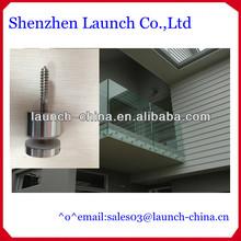 easy to install,AISI304 grade 12mm glass railing standoff