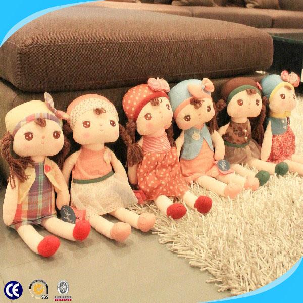 De dibujos animados de felpa muñeca de trapo y trapo linda muñecas ...