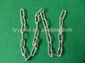 De metal de la cadena de enlace, eslabón de la cadena, pequeño eslabón de la cadena