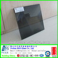 6+1.52pvb+6 13.52mm euro grey tinted cor laminado e temperado vidro manchado para grande janela de vidro