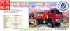 4x4 desert off road truck mounted with crane XCMG kunckle crane