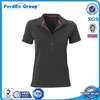wholesale high quality family ladies polo collar t-shirt