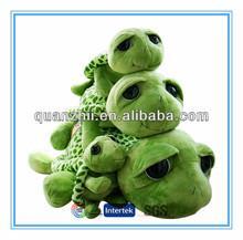 2014 Hot sales cute plush big eyes turtle toy