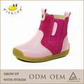 fundo de borracha de salto alto cor de rosa botas de inverno