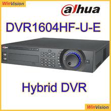 4CH Effio 960H & IP 2U Hybrid DVR dahua DVR1604HF-U-E 1 port RS232, For PC communication & Keyboard