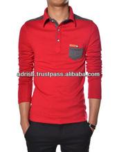 2013 fashion man sweater polo shirt /Best quality cashmere yarn 48/2 knits