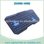 Waterproof wireless qwerty keyboard