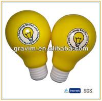 Double light bulb stress ball toy