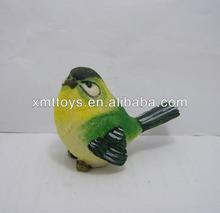 personalizar la resina del pájaro del jardín de la figura