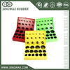 Chinese parts for a samsung excavator colored o rings kit