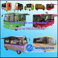 Mobile carro alimentos/catering caminhão/de vending do snack trailer