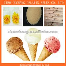 Gelatin Substitute Sodium Alginate as stabilizer for ice cream
