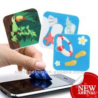 hot sale new design adhesive microfiber screen cleaner