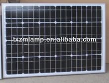 2014 12V 90W monocrystalline Silicon solar panels