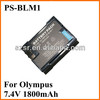 For Olympus aw imr 18650 battery PS-BLM1