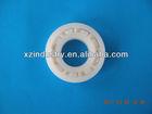 hybrid axle plastic bearing