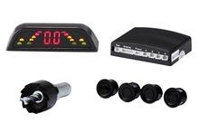 Reversing Parking Sensor 4 Sensors Audio Buzzer mirror image displayed LED