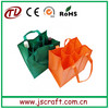 factory price big non woven wine bag with divider