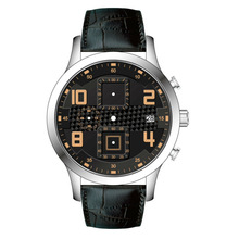quartz stainless steel watch water resistant japan/custom watches steel china factory