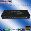 vga rca HDMI to VGA converter/ HDMI to 5.1 analog converter box/hdmi input to rca output